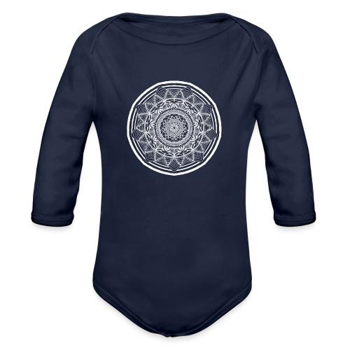 Circle No.1 - Organic Long Sleeve Baby Bodysuit