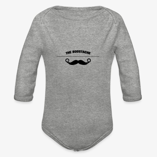 the boostage - Organic Long Sleeve Baby Bodysuit