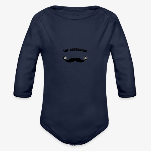the boostage - Organic Long Sleeve Baby Bodysuit