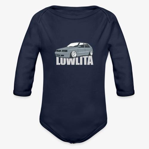 felicia lowlita - Organic Long Sleeve Baby Bodysuit