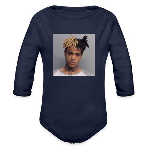 XXXTENTACION PIC - Organic Long Sleeve Baby Bodysuit