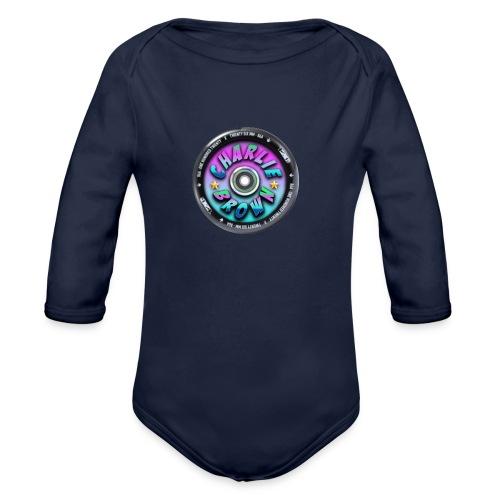 Charlie Brown Logo - Organic Long Sleeve Baby Bodysuit