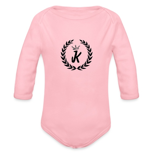 KVNGZ APPAREL - Organic Long Sleeve Baby Bodysuit