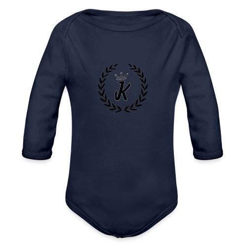KVNGZ APPAREL - Organic Long Sleeve Baby Bodysuit