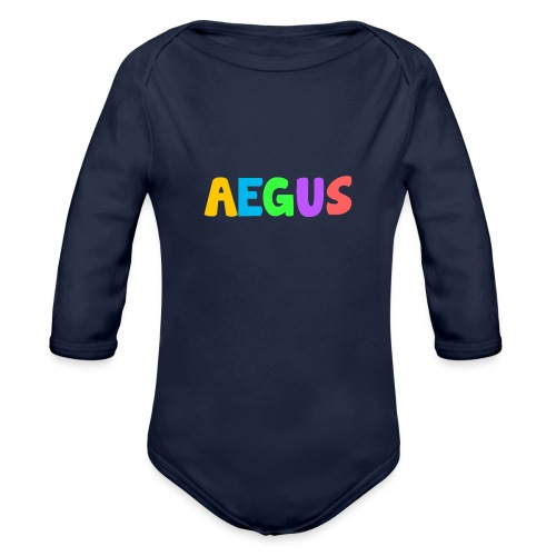 Aegus - Organic Long Sleeve Baby Bodysuit
