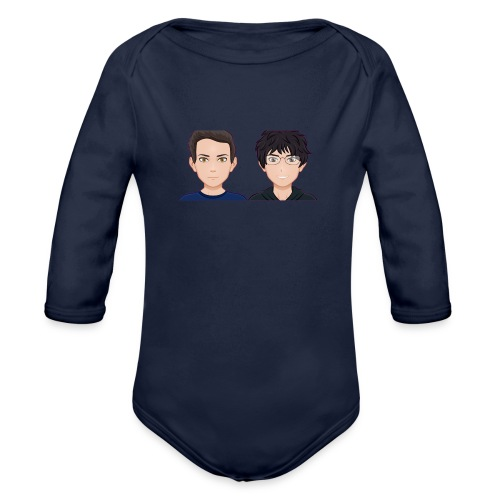Sun-Both - Organic Long Sleeve Baby Bodysuit