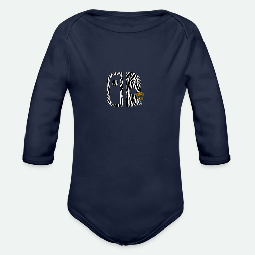 Switch Nation | Zebra Nation - Organic Long Sleeve Baby Bodysuit