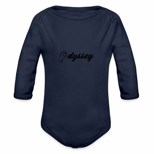 Hand Sign Odyssey - Organic Long Sleeve Baby Bodysuit