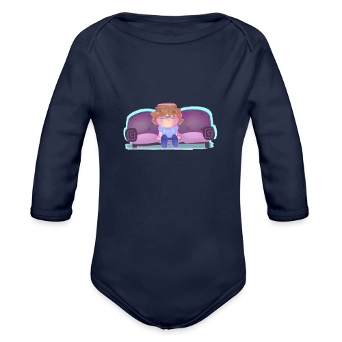 Come Sit - Organic Long Sleeve Baby Bodysuit