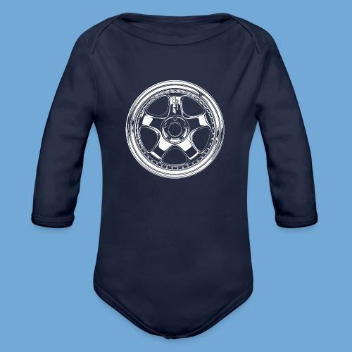 Work Meister S1 3P. - Organic Long Sleeve Baby Bodysuit