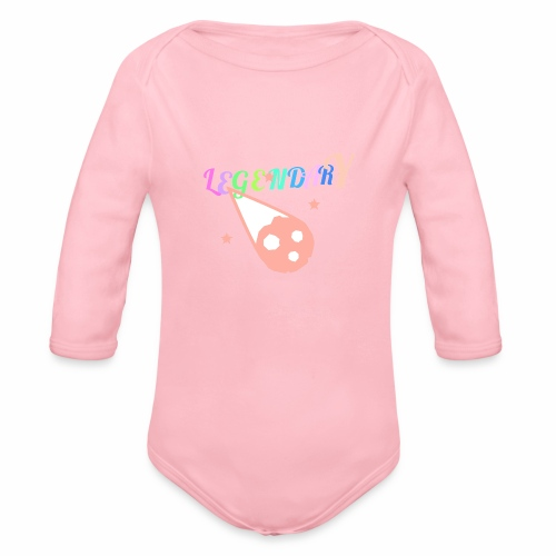 Legendary - Organic Long Sleeve Baby Bodysuit