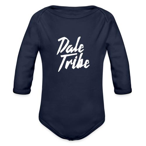 Dale Tribe Logo - Organic Long Sleeve Baby Bodysuit