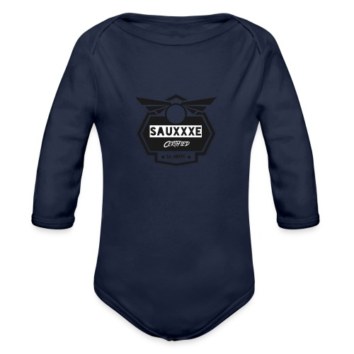 blacksauxe - Organic Long Sleeve Baby Bodysuit
