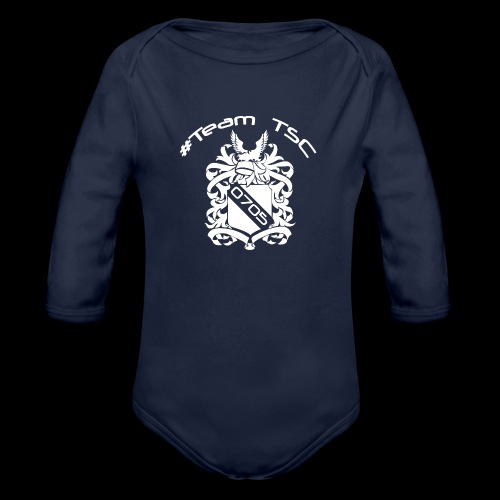 TeamTSC 05 Shield - Organic Long Sleeve Baby Bodysuit