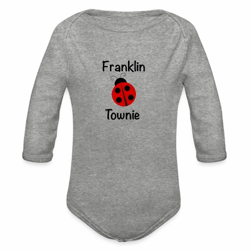 Franklin Townie Ladybug - Organic Long Sleeve Baby Bodysuit