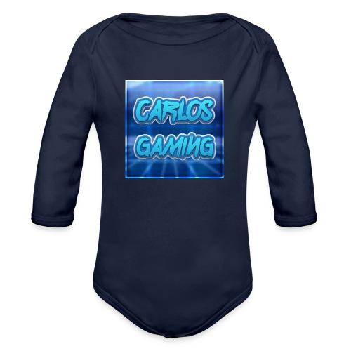 Carlos Gaming merchandise - Organic Long Sleeve Baby Bodysuit