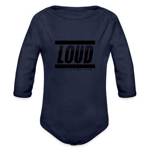 LOUD - Organic Long Sleeve Baby Bodysuit