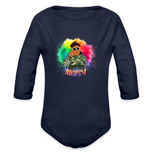 NEW MGTV Clout Shirts - Organic Long Sleeve Baby Bodysuit