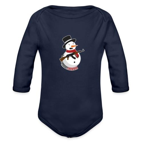 PRODBYSNOWMAN - Organic Long Sleeve Baby Bodysuit