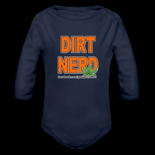 Dirt Nerd - Organic Long Sleeve Baby Bodysuit