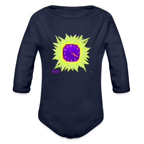 Bake Time - Organic Long Sleeve Baby Bodysuit