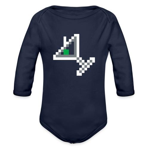 item martini - Organic Long Sleeve Baby Bodysuit