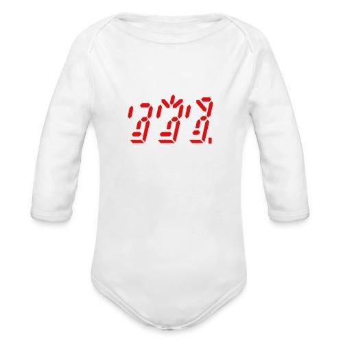 Ghost in the Machine - Organic Long Sleeve Baby Bodysuit
