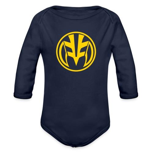tiger2 - Organic Long Sleeve Baby Bodysuit