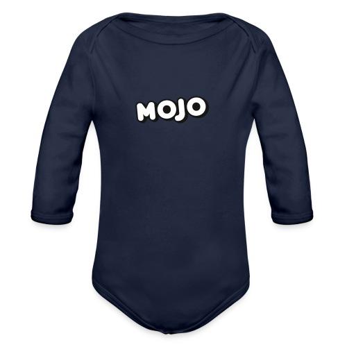 sport meatrial - Organic Long Sleeve Baby Bodysuit