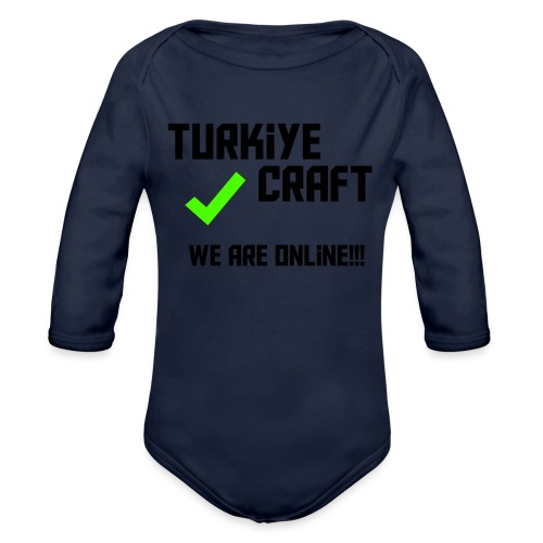 we are online boissss - Organic Long Sleeve Baby Bodysuit