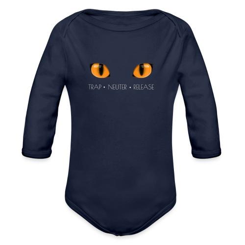 Trap Neuter Release - Organic Long Sleeve Baby Bodysuit