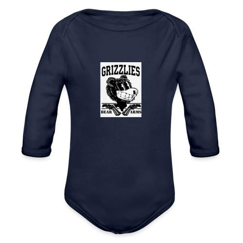 beararms - Organic Long Sleeve Baby Bodysuit