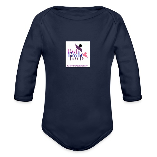 Black Women in Business - Organic Long Sleeve Baby Bodysuit