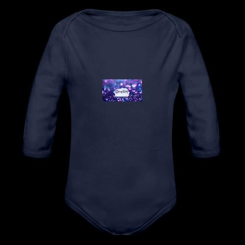 dream on - Organic Long Sleeve Baby Bodysuit