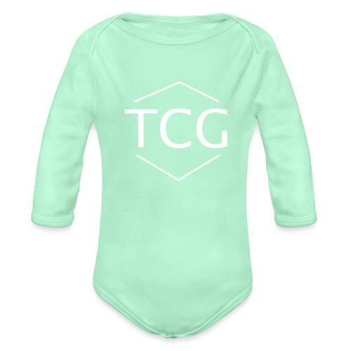 Simple Tcg hoodie - Organic Long Sleeve Baby Bodysuit