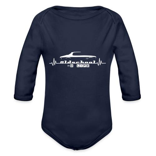 hq life - Organic Long Sleeve Baby Bodysuit