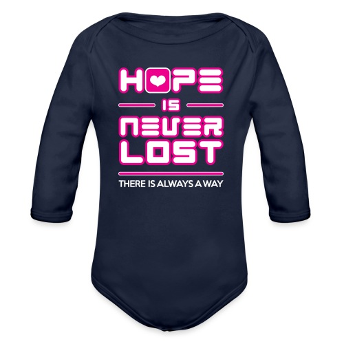 Hope is Never Lost - Organic Long Sleeve Baby Bodysuit