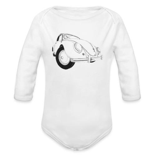 Beetle - Organic Long Sleeve Baby Bodysuit