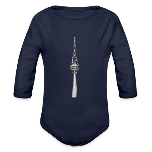 TV-Tower Berlin - Organic Long Sleeve Baby Bodysuit