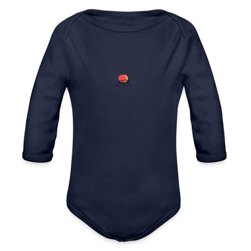 logo for lucas - Organic Long Sleeve Baby Bodysuit