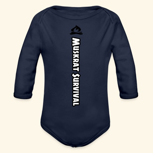 Muskrat Survival Tall - Organic Long Sleeve Baby Bodysuit