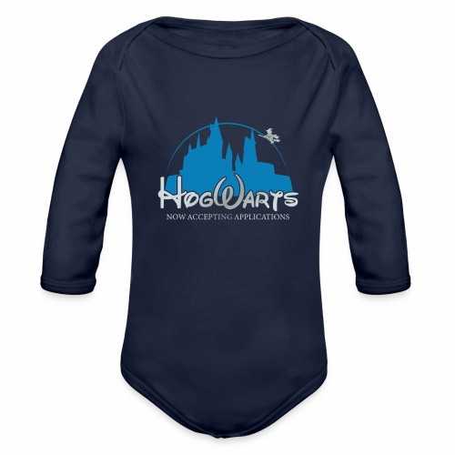 Castle Mashup - Organic Long Sleeve Baby Bodysuit