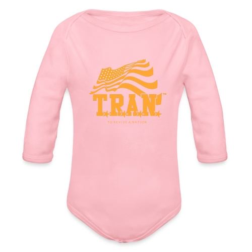 TRAN Gold Club - Organic Long Sleeve Baby Bodysuit