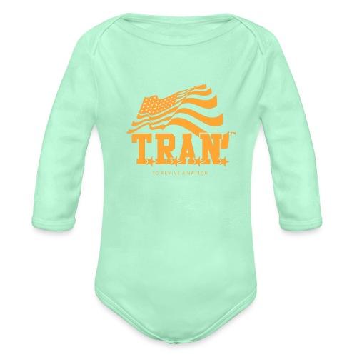 TRAN Gold Club - Organic Long Sleeve Baby Bodysuit
