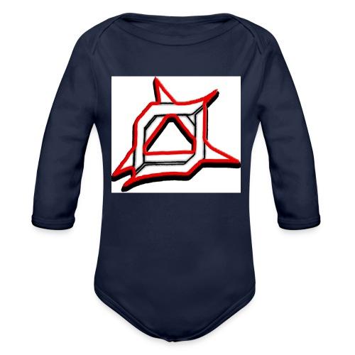 Oma Alliance Red - Organic Long Sleeve Baby Bodysuit
