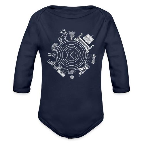 Freyr - God of the World - Organic Long Sleeve Baby Bodysuit