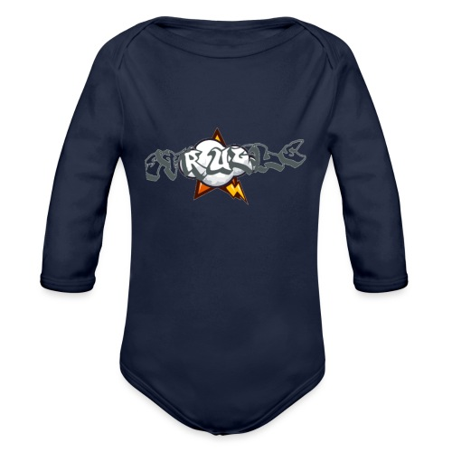 strugle - Organic Long Sleeve Baby Bodysuit