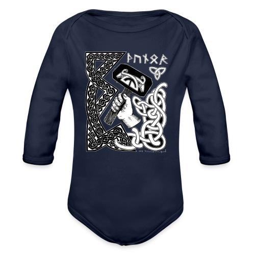 Thunor - Organic Long Sleeve Baby Bodysuit