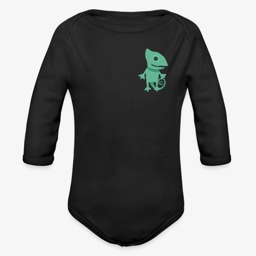 Chameleon - Organic Long Sleeve Baby Bodysuit