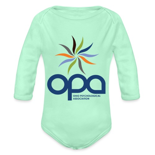 Short-sleeve t-shirt with full color OPA logo - Organic Long Sleeve Baby Bodysuit